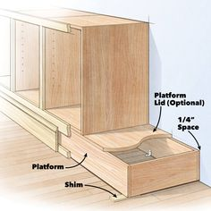 Shortcuts for Custom Built Cabinets and DIY Built Ins | Family Handyman | The Family Handyman