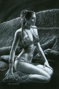 Risultati immagini per slave leia submitted Comic Book Pages, Comic Book Artists, Comic Books Art, Comic Art, Princess Leia Slave, Princess Drawings, Star Wars Film, Art Archive, The Bikini