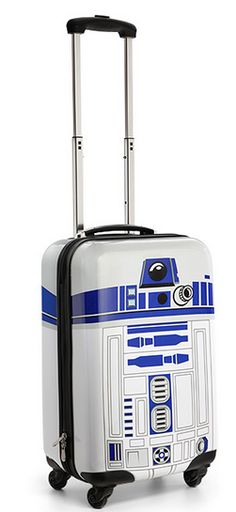 R2-D2 Carry On Luggage - this is AWESOME! $59.99 & free shipping with code: USALERT http://rstyle.me/n/szxhhnyg6