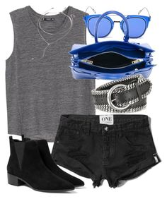 """""""Untitled #18562"""" by florencia95 ❤ liked on Polyvore featuring MANGO, GANT, Yves Saint Laurent, Abercrombie & Fitch, Forzieri, Forever 21 and apopofluxury"""