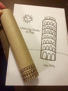 Evropa - Itálie - výroba Šikmé věže v Pise
