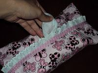 artesanato passo a passo: porta lenços umedecidos - bebê