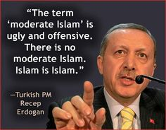 """No such thing as a """"moderate Islam"""". If that is so, and ISIS is Islam... Then there is no place for Islam in Canada!!"""