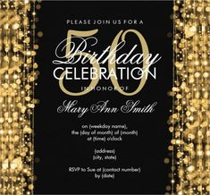 CoolNew Create Own 50th Birthday Invitation Template Ideas
