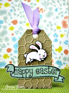 Annie Rose Makes Things: {Happy Easter} a Lawn Fawn Tag