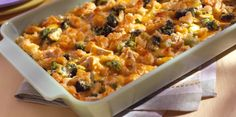 Easy chicken casserole