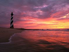 Cape Hatteras Lighthouse - Outer Banks, NC / the beauty that is the OBX. One of my favorite places EVER! Outer Banks North Carolina, Outer Banks Nc, Outer Banks Vacation, Vacation Spots, Oh The Places You'll Go, Places To Travel, Places To Visit, Cape Hatteras Lighthouse, Am Meer