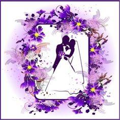 la boda de encaje tema vector
