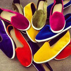 Gondoliers shoes.