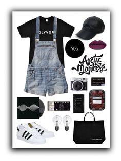 """Happy Birthday Polyvore!"" by nat-a-bee ❤ liked on Polyvore featuring Abercrombie & Fitch, Vianel, adidas and Cleanse by Lauren Napier"