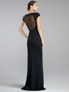 2013 Style Sheath / Column Scoop Lace Short Floor-length Chiffon Bridesmaid Dresses / Prom Dresses / Evening Dresses