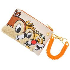 Chip, Dale, and Clarice Coin Pouch...the only thing that has clarice on it besides the jigsaw puzzle i found on disneystore.jp