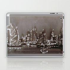 Dubai night  Laptop & iPad Skin by sladja - $25.00 Laptop Skin, Dubai, Ipad, Night