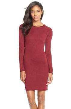 MARC NEW YORK Raglan Sleeve Body-Con Sweater Dress available at #Nordstrom $120