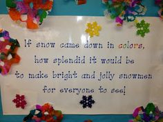 Mrs. Goff's Pre-K Tales: Beautiful Snowflakes