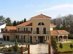 Bungalow Zum Wohlfühlen ? Mediterranes Haus Von Weberhaus ... Haus Bauen Ideen Mediterran