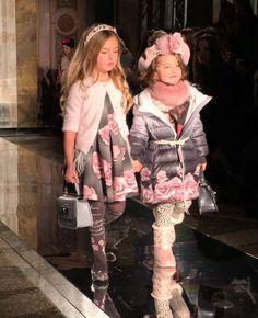 Front Row at Monnalisa Kids Fall Winter 2016 Fashion Show | Dashin Fashion