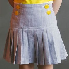 Schoolday Skirt pdf sewing pattern by Blank Slate Patterns