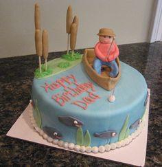 fishing cakes | Fishing birthday cake — Birthday Cakes