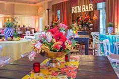Floral bowl centerpiece