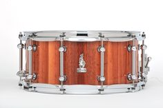 14 x 6.5 BRADY Jarrah Block snare drum (Natural gloss finish).