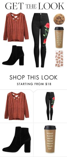 """""""Untitled #177"""" by deandelaina on Polyvore featuring MANGO, Kate Spade and Skinnydip"""