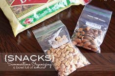 How to organize snacks via A Bowl Full of Lemons