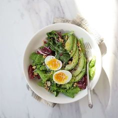 Becoming A Chef, Cooking Recipes, Healthy Recipes, Healthy Meals, Aesthetic Food, Food Plating, Green Beans, Salad Recipes, Avocado Toast