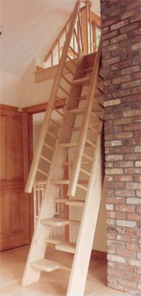 Alternating Tread Stairs; these look so dangerous. I would not trust myself, even my fully awake and paying attention self, to go up or down these without incident.