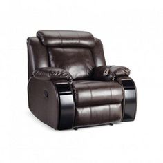 'Monica III' Oversized Bonded Leather Recliner Canada Shopping, Leather Recliner, Bonded Leather, Online Furniture, Mattress, Chair, House, Ideas, Home Decor
