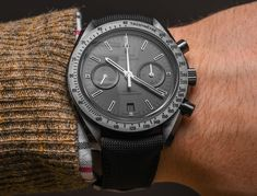Omega Speedmaster Dark Side Of The Moon Watch Hands-On In All Four New Colorways Hands-On
