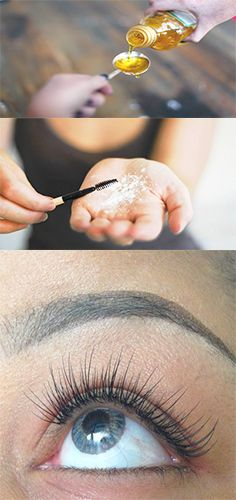 Everybody's just finding out about this method for long lashes.