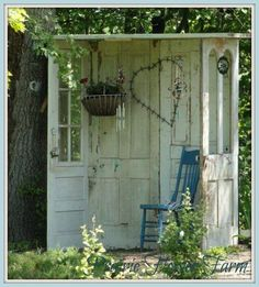 Upcycle old doors...