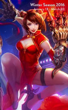 Koshka red lantern art