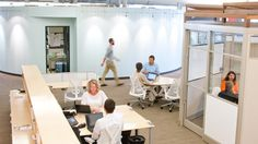 """Herman Miller: How a Conventional Office Can """"Go Collaborative"""" and Save Money (Click through image to read research paper/case study/article.)"""