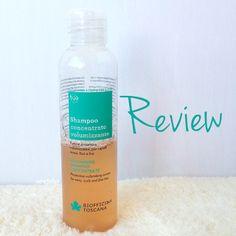 #Review Biofficina Toscana Shampoo Concentrato Volume | È verde? - App sui Cosmetici BIO