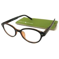 Mademoiselle-Oval-Black-Reading-Glasses-Superb-Optical-Clarity-1-00-3-25
