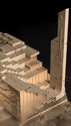 Yasser Agha / Visuality Studio: The Islamic Centre of Babylon is a project where the history and future getting along with each other. #architecture #architect #amazingarchitecture #design #interiordesign #interiordesigner #decor #homedecor #home #house #luxury #diy #travel #amazing #photography #realestate #casa #arquitecto #arquitectura #decoration #mosque #islam #islamiccenter #quran #muslim #iraq #baghdad #babylon #render #3d #vray #3dsmax Religious Architecture, Amazing Architecture, Islamic Center, Iraq Baghdad, 3 D, Centre, History, Mosque, Studio