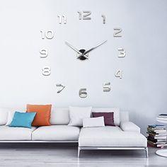 http://ift.tt/1kcJnyR XXL3D Riesige Spiegel Wanduhr Vinyl DIY Ø 130cm Große XXL Design Uhr II !(iqeti)#