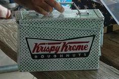 Krispy Kreme ammo can geocache by Arkansas Stickerdude