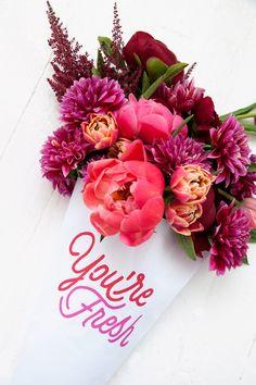 you're fresh | floral printables!