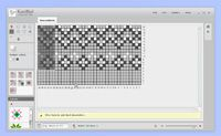 KnitBird - Knitting software - design your own knit - even import photos and the program changes the pixels into loops!
