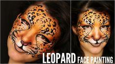 Leopard — Makeup & Face Painting Tutorial — Аквагрим Леопард