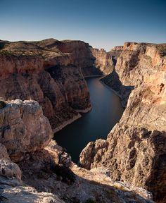 Big Horn Canyon, Bighorn Canyon National Recreation Area, near Billings, Montana
