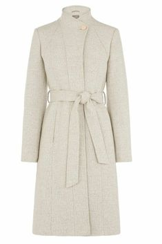 2a89aba82150 Buy Oasis Natural Magnolia Panel Coat from the Next UK online shop.  Celebrity Fashion Store