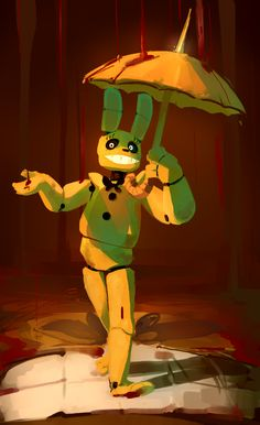 Spring trap what have you done this time? Fnaf 4, Anime Fnaf, Funny Fnaf, Fnaf Drawings, Cool Drawings, Fnaf Wallpapers, William Afton, Freddy 's, Fnaf Characters