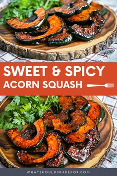 Roast, bake or grill these acorn squash slices. An easy recipe for Thanksgiving or fall entertaining. Brown sugar for the win. Roast, bake or grill these acorn squash slices. An easy recipe for Thanksgiving or fall entertaining. Brown sugar for the win. Healthy Vegetable Recipes, Vegetarian Recipes, Healthy Vegetables, Thanksgiving Side Dishes, Thanksgiving Recipes, Vegan Acorn Squash Recipes, Acorn Squash Recipe Brown Sugar, Roasted Squash, Tasty