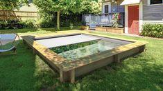 Dit is het perfecte stadszwembad voor de kleine tuin: de Urban Pool - zwembad - wellness-zwembad - WONEN.nl Plunge Pool, Tub, Urban, France, Outdoor Decor, Wellness, Home Decor, Gardening, Camping