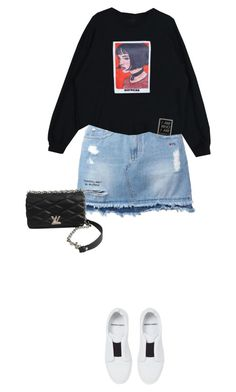 """Untitled #524"" by isabellakongerskov ❤ liked on Polyvore featuring Steve J & Yoni P, Louis Vuitton and Pierre Hardy"