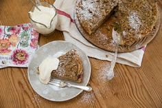 Apple and Rhubarb Crumble Tart Recipe - Angela Casley's decadent tart is good for any time of day